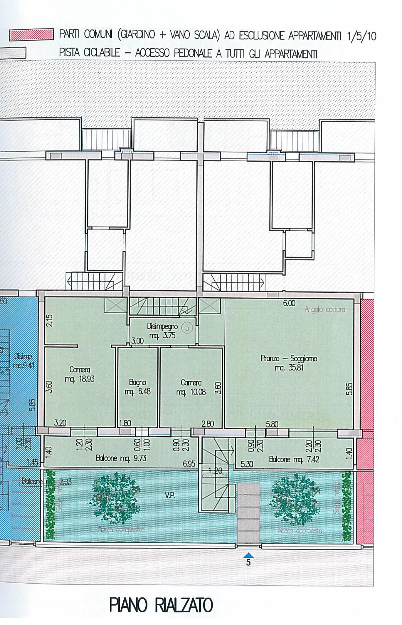 Gatteo, Villa Zefiro Appartamento 5