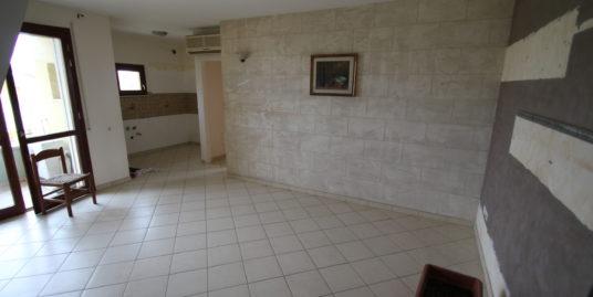 Appartamento con tre camere di recente costruzione