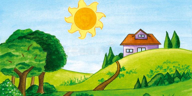 casa in collina borghi