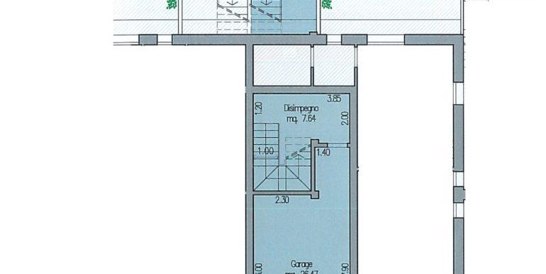 Ostro 7 piano seminterrato