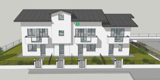 Appartamento di nuova costruzione al piano primo con mansarda