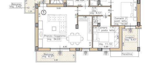 Appartamento in Classe energetica A