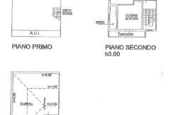 Appartamento con 3 camere + mansarda